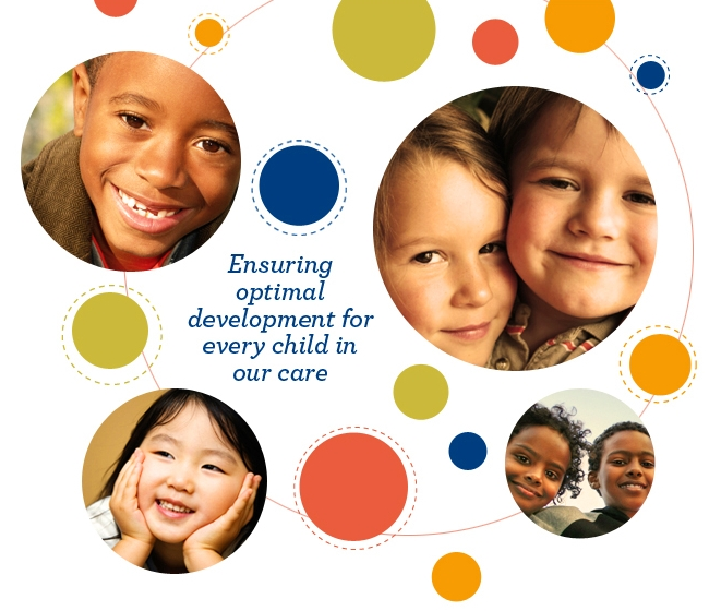Ensuring optimal development for every child in our care.